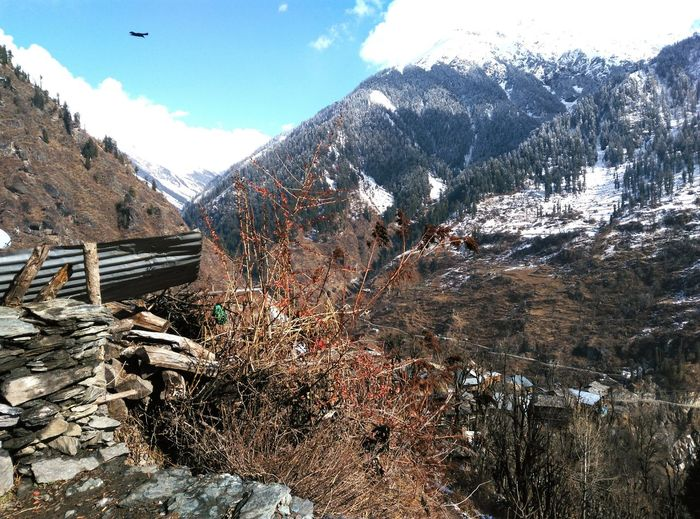 It's Cold Outside ,Malana , Enjoyable Days.snow Relaxing My Winter Favorites