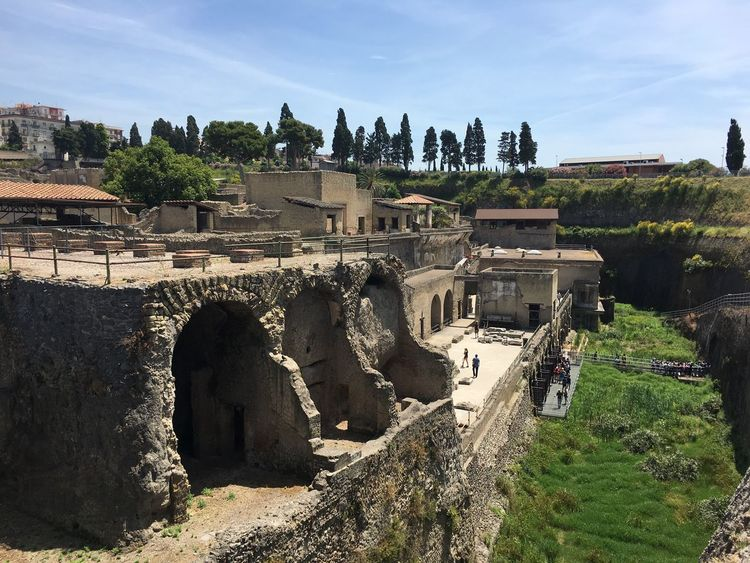 Ercolano History Travelphotography Best Destination Traveling Italy