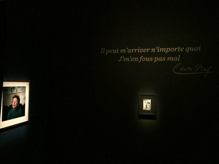 Edith Piaf La Vie En Rose Exhibition Paris