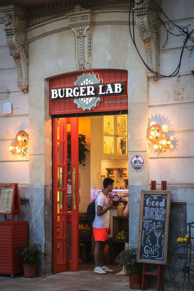 Burger Time City Life City Street Palma Palma De Mallorca Walking Around Architecture Building Exterior Built Structure Communication Day Full Length Hamburger Lifestyles Men One Man Only One Person Outdoors Real People Rear View Restaurant Standing Text Walking Women