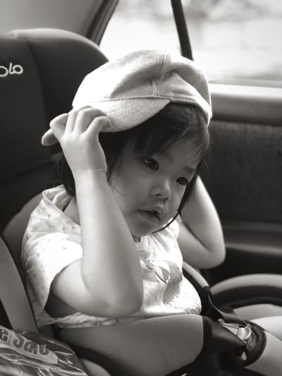 Toddler Car Child Motor Vehicle Mode Of Transportation Vehicle Interior Childhood Transportation Sitting Young Baby Cute Innocence
