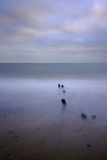 Morning Beach Scene, Arklow, Co. Wicklow. Arklow Beach Beauty In Nature Calm Water Cloud - Sky Coast Coastline Coastline Landscape Cold Dawn Day Horizon Over Water Ireland🍀 Morning Morning Light Nature No People Outdoors Scenics Sea Sky Tranquility W Water Winter
