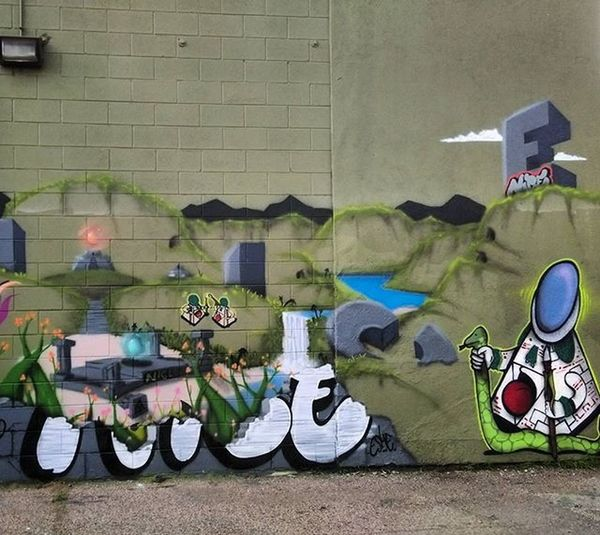 Graffiti Graffhunter Graffitiporn Denvergraffiti Streetart Denverstreetart Murals Mural Denvermurals Nspire @chrishaven