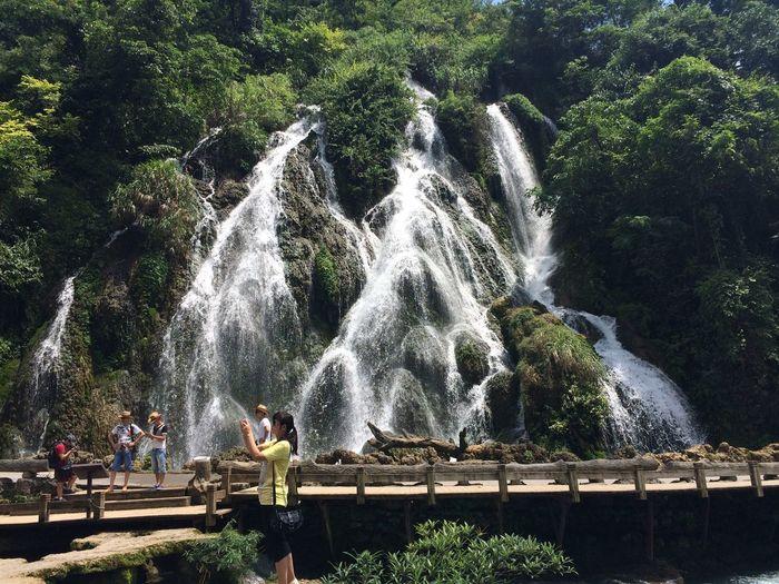 小七孔 拉雅瀑布