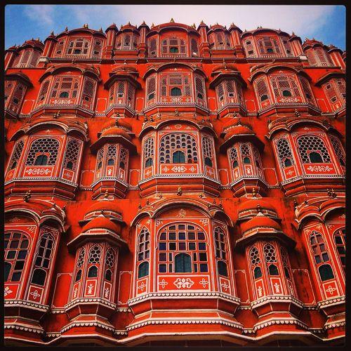 India Jaipur Havamahal IPhone IPhoneography