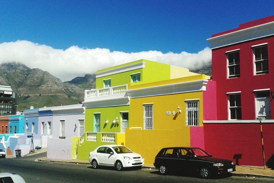 Capetown Bo-kaap Tablemountain Summer Colors Colorful Holidays Southafrica Capetownliving Kapstadt Südafrika Kapstadt First Eyeem Photo