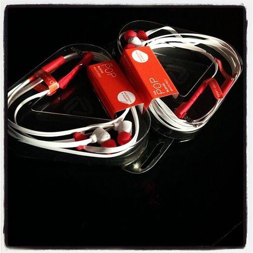 Galing kay santa ohh xD hehe Earplugs Popblocks Earphones Gift