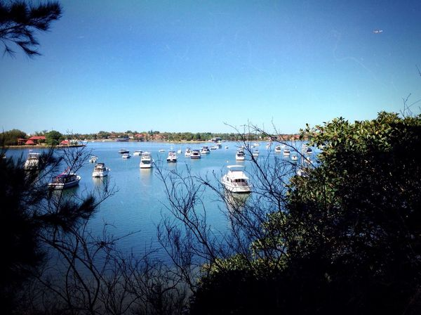 Iron Cove in Sydney. ProCamera7 app, iPhone5 camera. Hanging Out Relaxing Boats Water