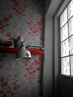 Colour Splash Morgana Huawei HUAWEIP10 Leica Huawei P10 Monsummano Terme Office Corner Lamps And Lights. Windows Of My World Indoors  Window No People Red Day Paper Architecture Close-up