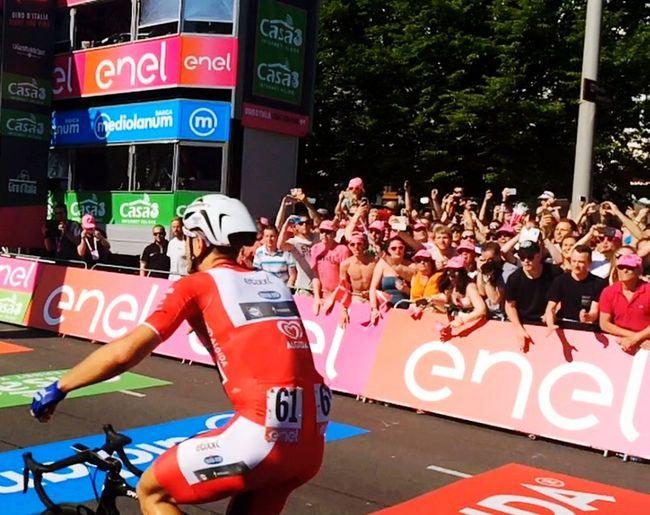 Giro Giroditalia Cycling Velperbuitensingel Arnhem Thenetherlands Finish Winner Kittel Adventure Club