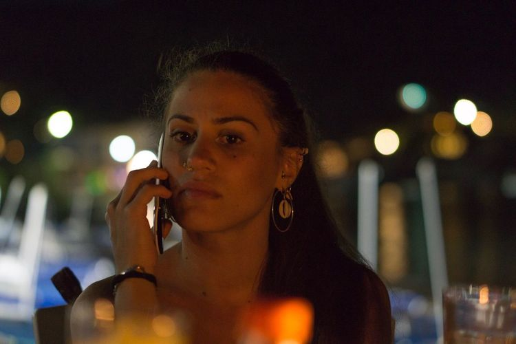 Focus Object Portrait Photography Night Outdoors Sony A6000 Sony FE 55mm F1.8
