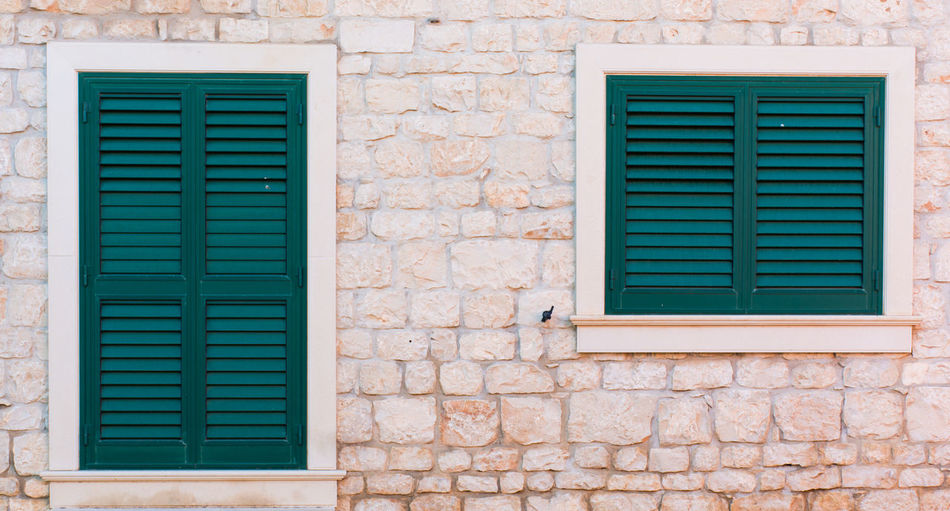 Architecture Brick Wall Building Exterior Built Structure Day House No People Outdoors Ragusa Ragusa - Scorcio Italiano Ragusa Ibla Ragusa Ibla, Sicily Shutter Sicily Sicily, Italy Sicilyan Window