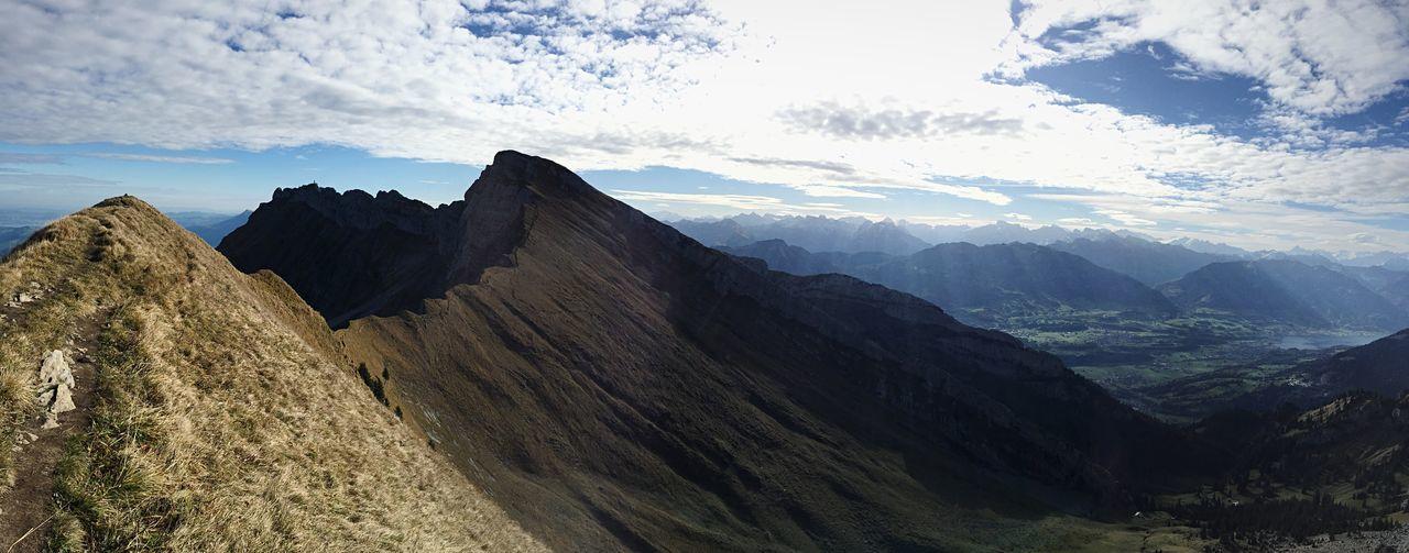 Switzerlandmountains Switzerland Alps Switzerland Mountain Scenics - Nature Beauty In Nature Mountain Range Landscape Panoramic Mountain Peak Tranquility