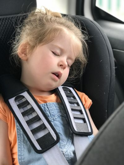 Child asleep in the car Asleep In The Car Asleep Parenting Tired Child Childhood Offspring One Person Motor Vehicle Transportation Technology Girls Vehicle Interior Car Car Interior Lifestyles