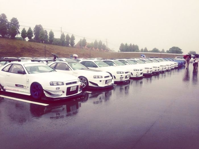 Skyline Parking Asian Car Skyline R34