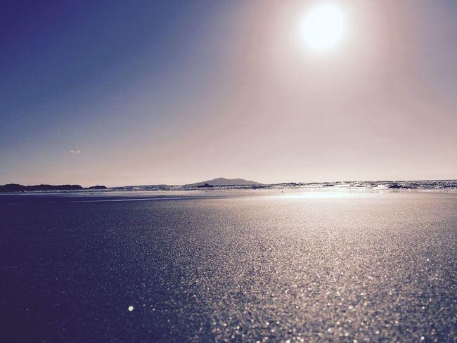 Summer sands Beach Summer Sea Blue Sky Blue Sand Outdoors