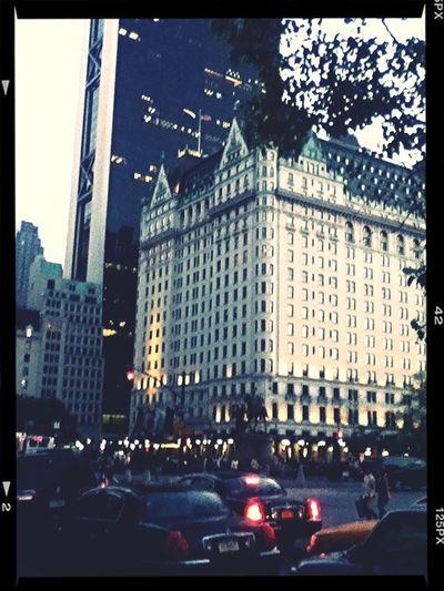 Down Town Manhattan Doing A Show