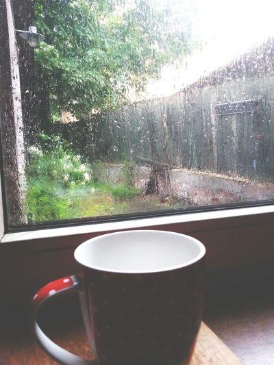Relaxing Rain Tea Sleepy Calm