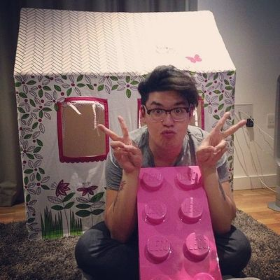 Built my dreamhouse with Lego. LEGO Pink Dreamhouse HouseHusbandMaterial Gay Asian Gaysian InstaGay