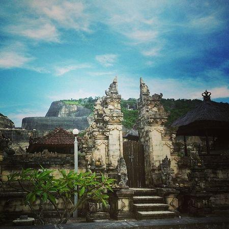Travel Family Bali Southkuta pandawa beach hills temple sky