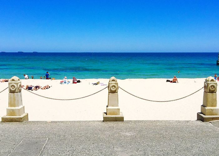 Indian Ocean: Cottesloe Beach View Beach Photography Posts Chain Cottesloe Beach Indiana Tea House Beach Families Sea Sand Blue Incidental People Turquoise Water Indian Ocean Western Australia Beaches Beach Travel Life Is A Beach Fun Relaxing
