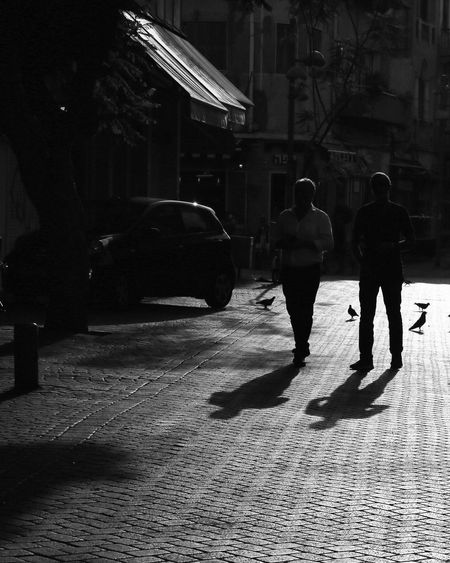 Two People Silhouette City Street EyeEm Streetphotography EyeEm Best Shots EyeEm The Best Shots Street Photography Eyeemweek Blackandwhite Blackandwhite Photography Street Life Black And White Photography EyeEm Week Sunset Silhouettes Black & White Shadow