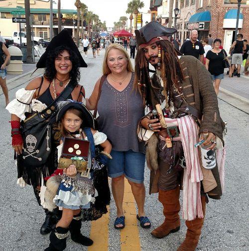 Enjoying Life Daytona Beach Piratelife Happiness No Filter, No Edit, Just Me