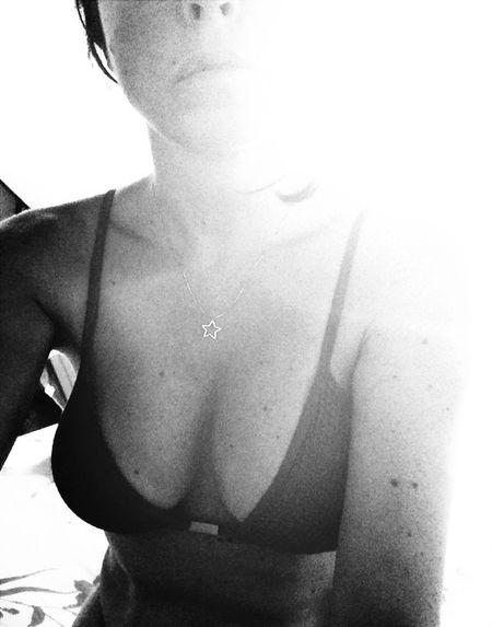 FiloPortrait Sel Protrait Summer Bikini Enjoy #sun Black And White Portrait