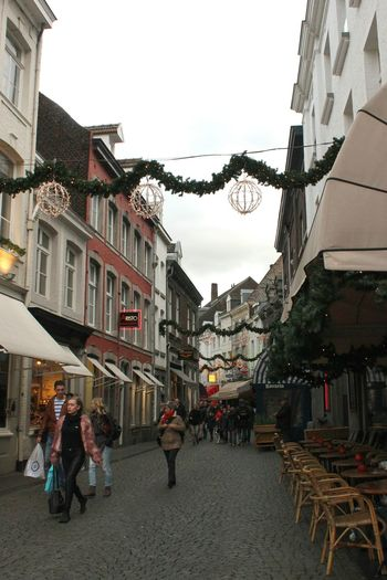 Maastricht Netherlands Christmastime Gloomy Weather Streetphotography Discover Your City Good Mood