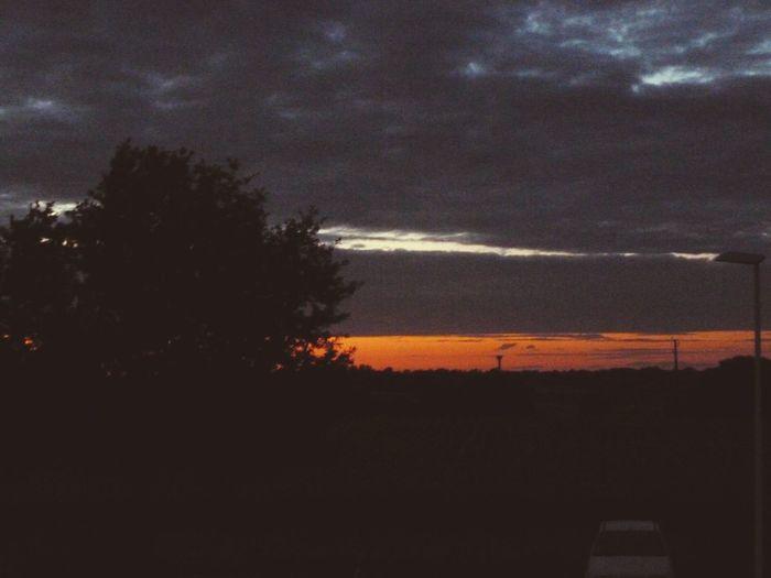mechanic orange. Landscape Sunrise Sun Down Sky Nature