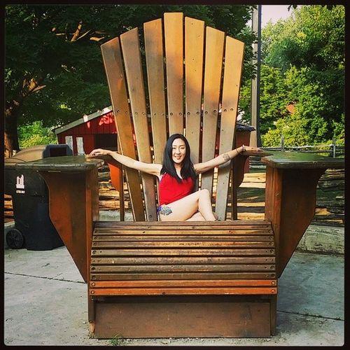 ♡ Tattoo Centerisland Giant Chair