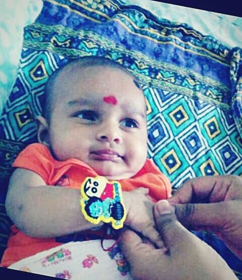 My cute cousin brother :-)
