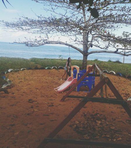 Relaxing Being A Beach Bum Surfing Sandcastles
