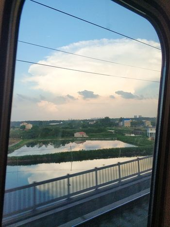 Sky Transportation Nature Architecture Window Cloud - Sky Built Structure