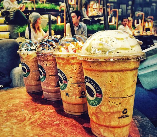 Coffe at espresso house anyone? ☕️ Coffee Espresso House Fikar Icecoffee Frappe Frappuccino Friends Mall Different Flavors Good Tasty