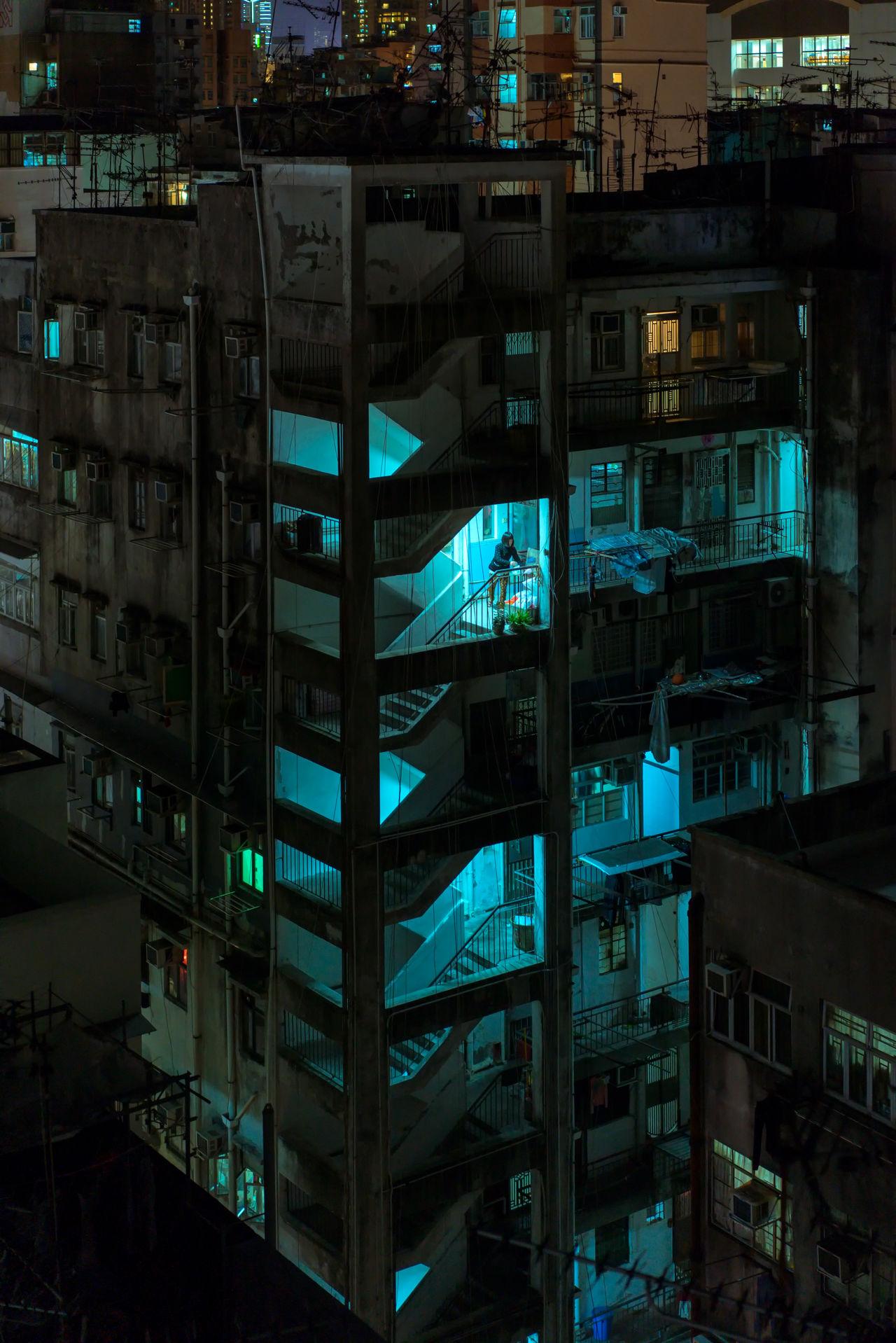 architecture, building exterior, built structure, illuminated, night