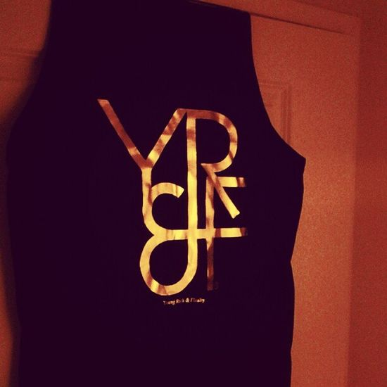 Young Rich & Flashy Gold Edition Summer Tank! AllGoldEverything Youngrichandflashy