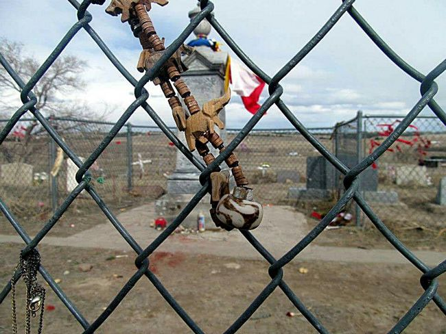 Mass Burial. Wounded Knee South Dakota Pine Ridge Massacre Pine Ridge Reservation Native American Cemetary Fence History History Through The Lens