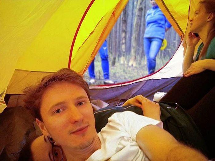 Настоящий домик в лесу Novatour палатка подарок