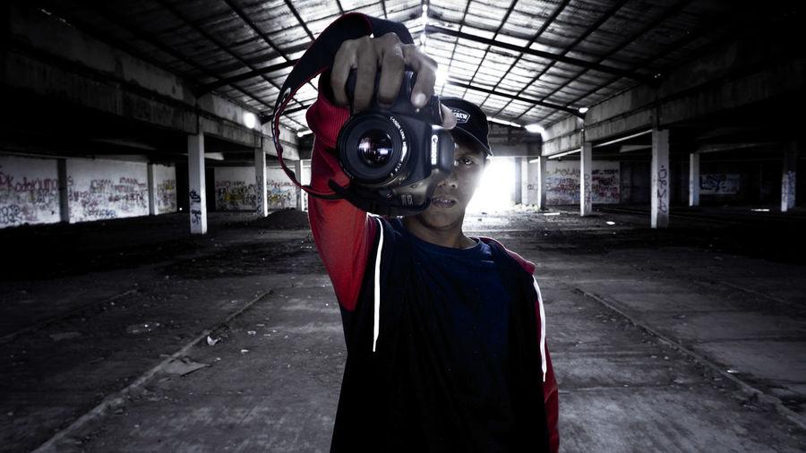 eye lens Photgraphy Streetphotography University Of Gunadarma INDONESIA Indonesia_photography Construction Building Urbexphotography Urbex Athlete Sportsman Sport Match - Sport Headwear Men Protective Workwear Disguise Spooky EyeEmNewHere