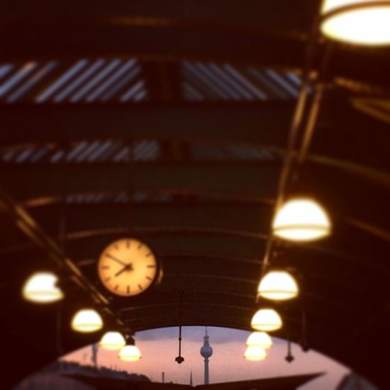 Showcase: February Berlin Good Morning Mood Light And Shadow Lights Fernsehturm Big City Life Urbanphotography This Week On Eyeem EyeEm Best Shots EyeEm Best Edits Clock