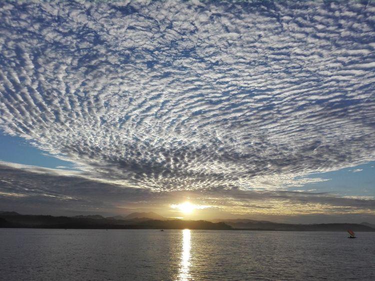 Sunrise Relaxing Nature Beautiful Sky