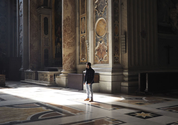 Marble Rome Light And Shadow San Pietro In Vaticano Italy First Eyeem Photo Architecture Basilica Travel Destinations Travelling EyeEmNewHere