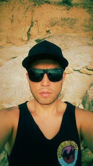 Hello World Selfie Sumertime Sun Glasses Calor Gorra Verano