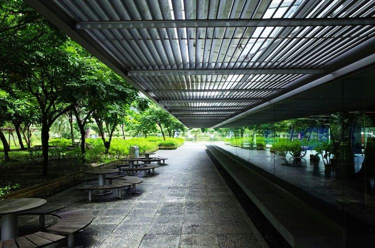 Taking Photos Enjoying Life Vanishing Point Urban Geometry Yilan Taiwan