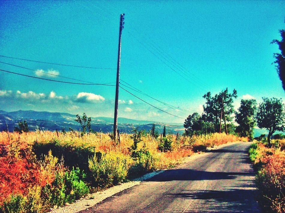 Road Village Syria  Latakia