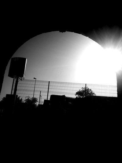 Silhouette Basketball Hoop Basketball - Sport Sky