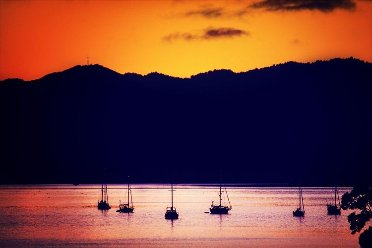 Reflection Sunrise Silhouette Eye4photography