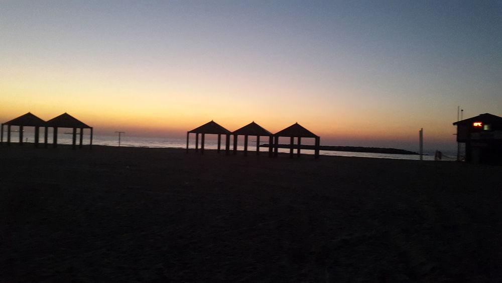 Beautiful Beach Sunset Love Ashkelon Break The Mold