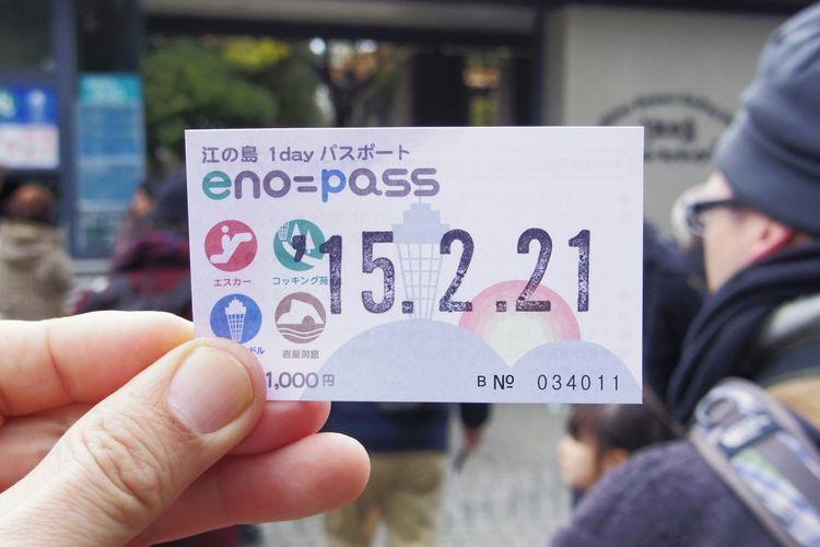 Tiket Freepass Enoshima Japan Photography Travel Photography Pentax PENTAX Q Taking Photos Japan Streetphotography